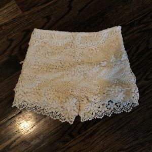 Other - KIMICHI BLUE LACE SHORTS